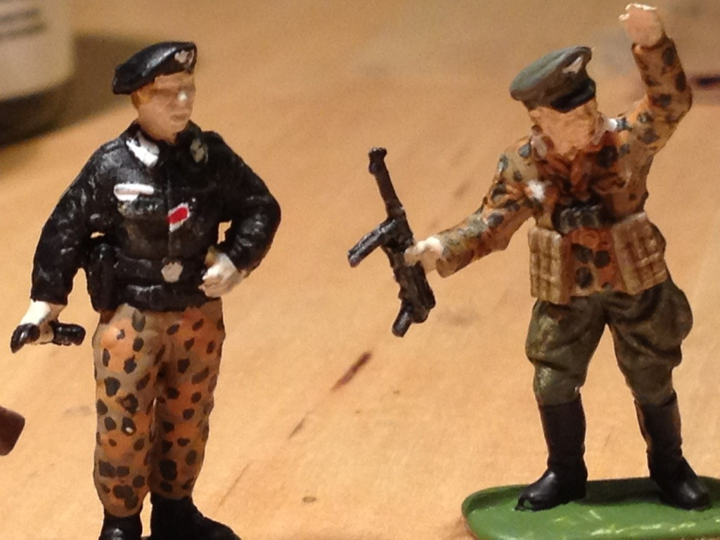 how to create miniature camouflage pattern fimp